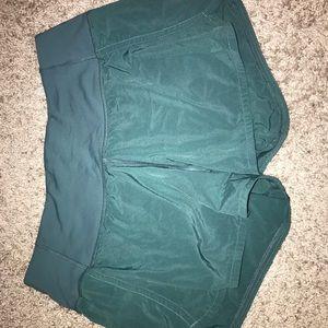 Lulu Lemon green shorts